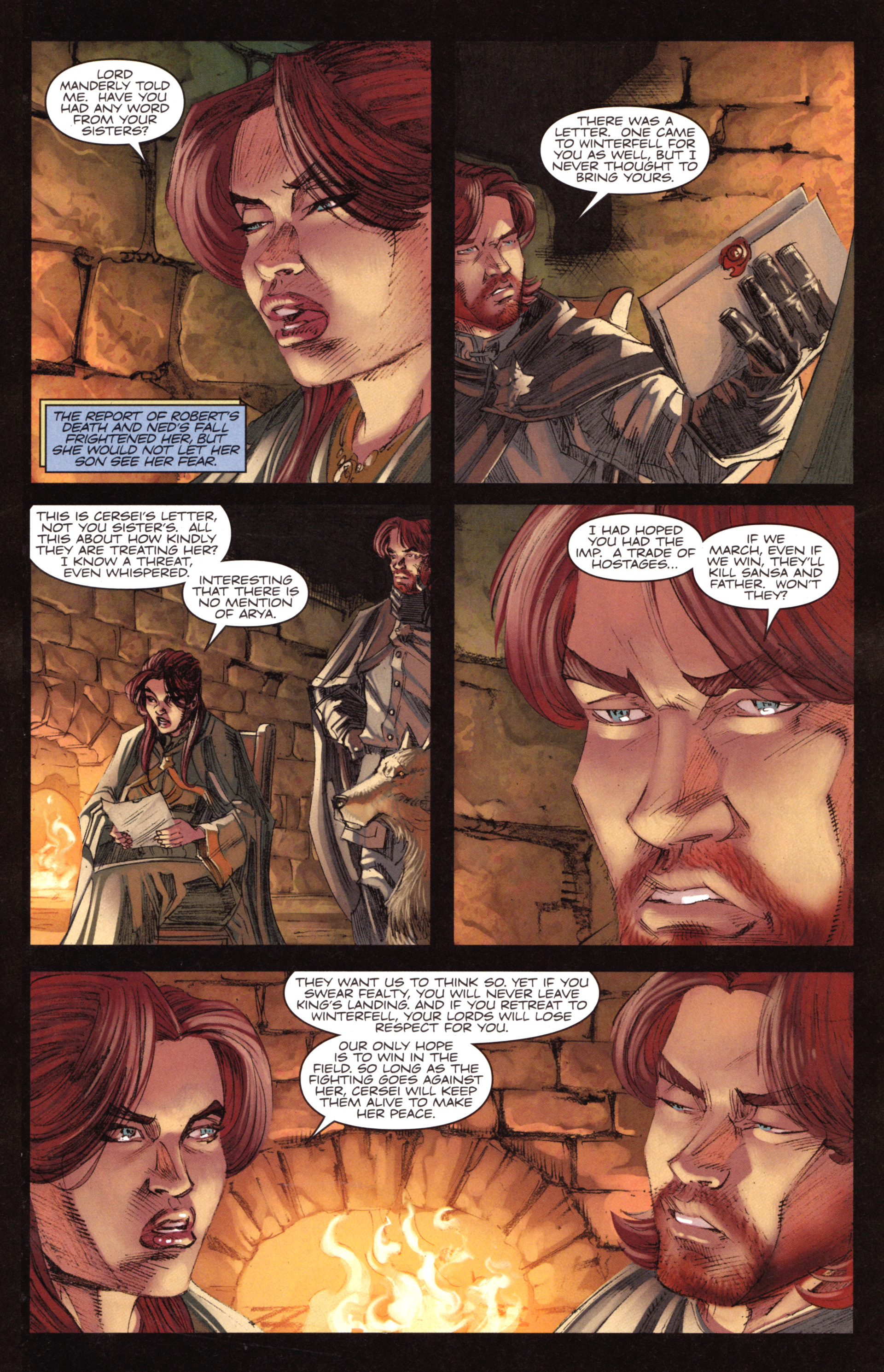 Read online A Game Of Thrones comic -  Issue #18 - 9