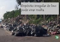 Multa para Depósito irregular de lixo