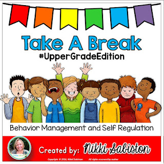 Take A Break Station for upper elementary