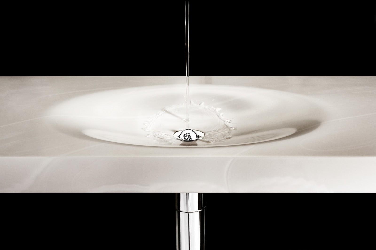 Minosa ScoopED washbasin by Minosa integrated bathroom basin  bench