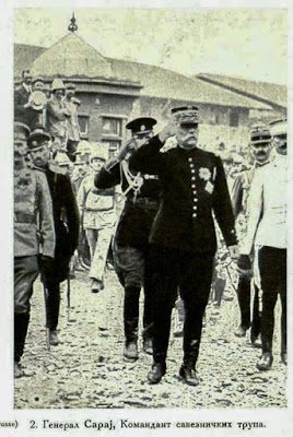 General Sarrail, Commander of the Allied troops