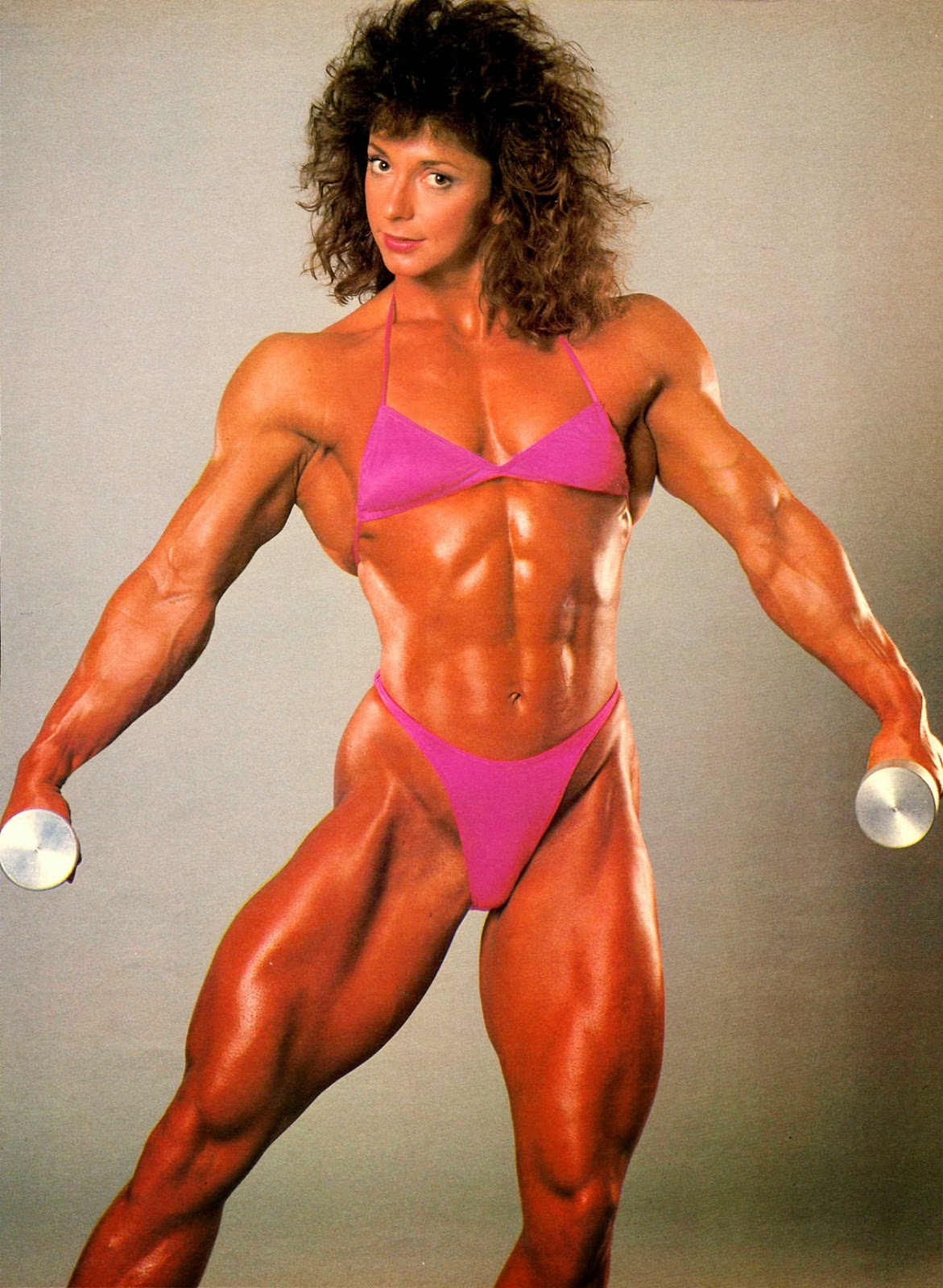 80's Female Muscle: December 2014