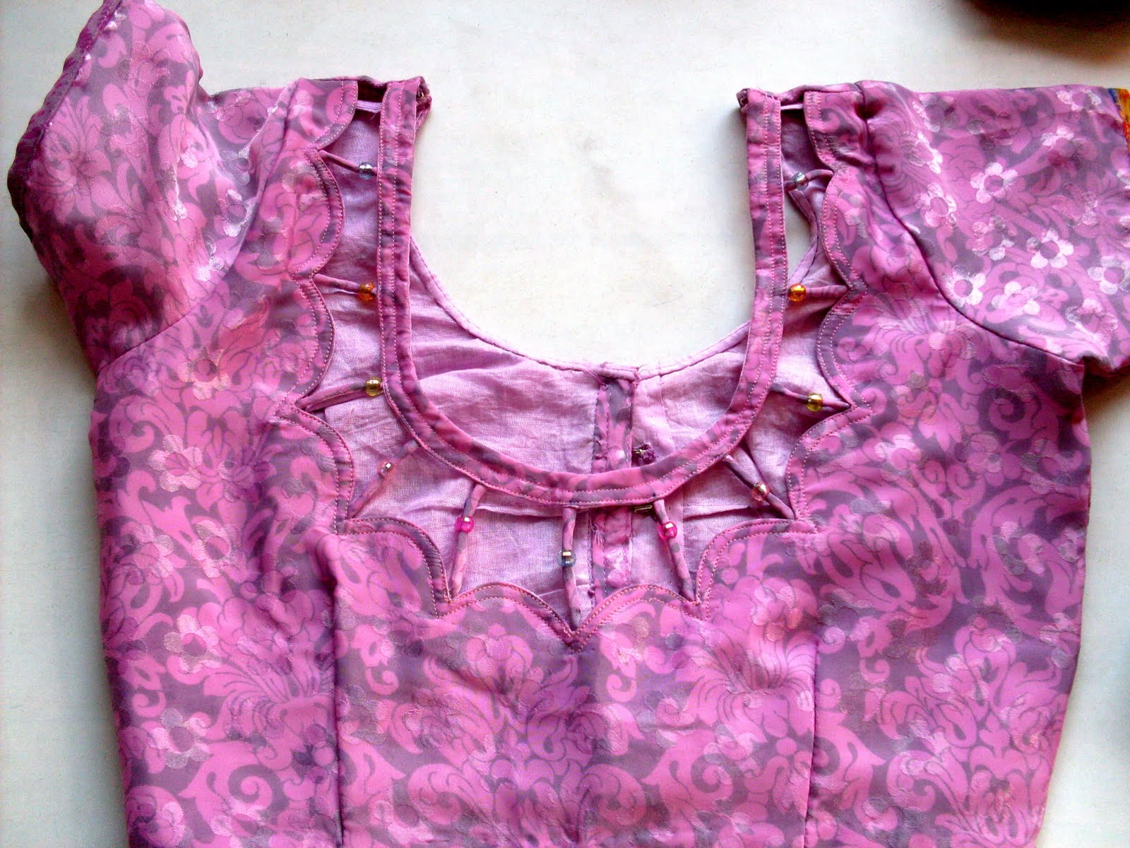 Blouse Designs Back