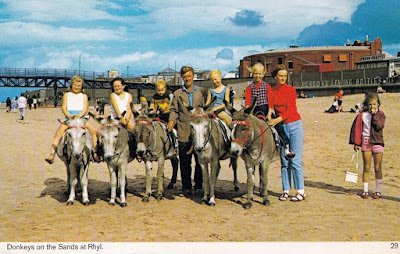 Beach sands donkeys pier