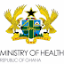 Ghana Ministry of Health Recruitment of Health Professionals 2019/2020