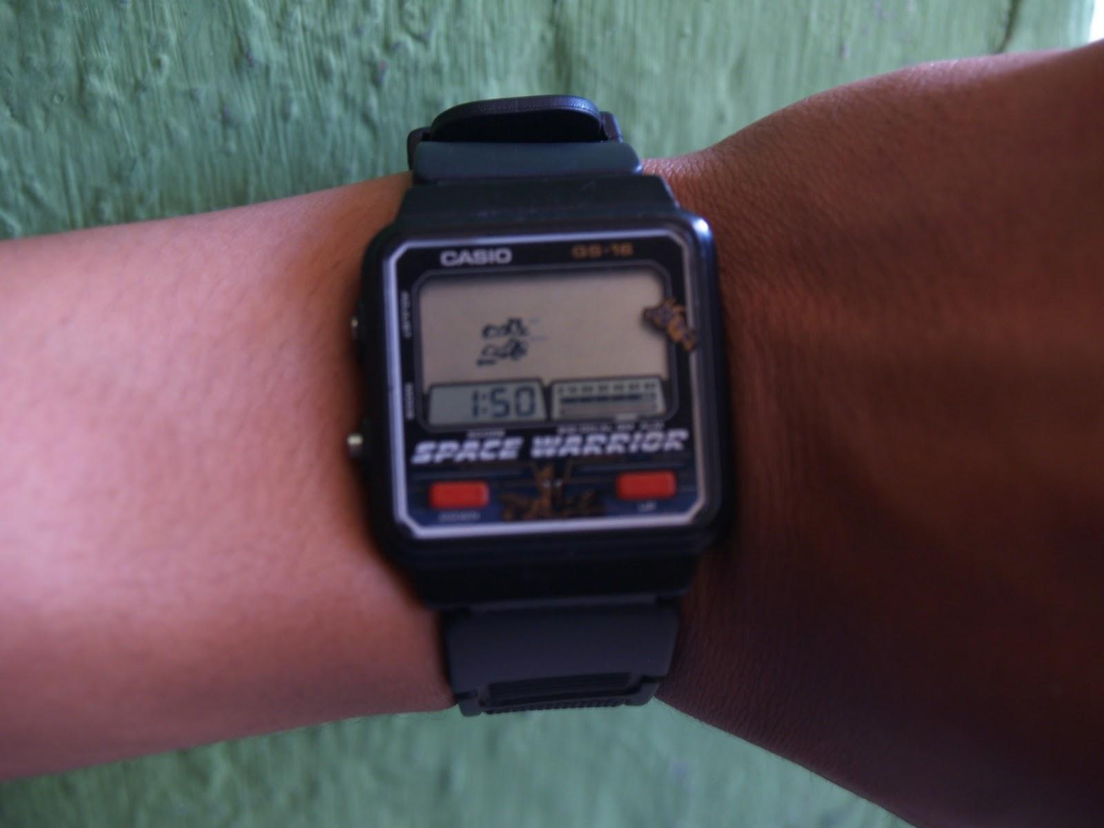 Jam Tangan Casio Gimbot Space Warrior Cocooan Jadul 758ec7f6d7