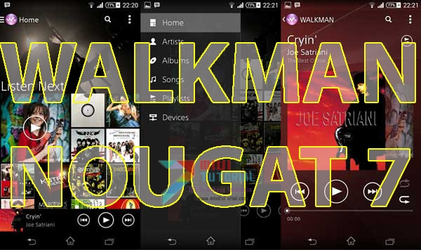 Terlanjur Cinta Walkman Musik Player tapi Tidak Bisa Diinstall Gegera Smartphone Xiaomi Kamu Sudah Based Android Nougat? Coba yang Satu Ini (Tested Redmi Note 3 PRO)