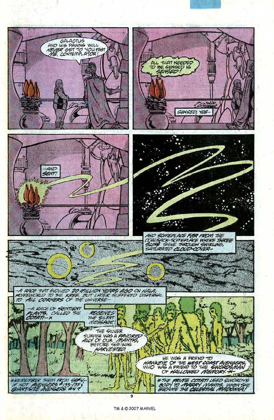 Read online Silver Surfer (1987) comic -  Issue #12 - 11