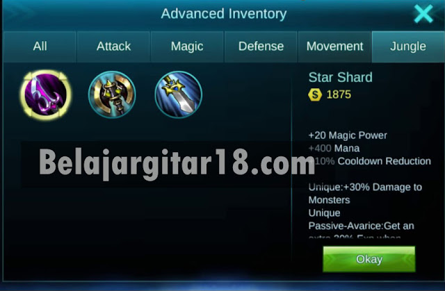 Gunakan Item Jungle