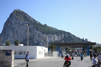 Frontier and Customs between Spain and Gibraltar