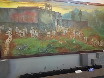 ソンラ刑務所受刑者の絵画、壁画