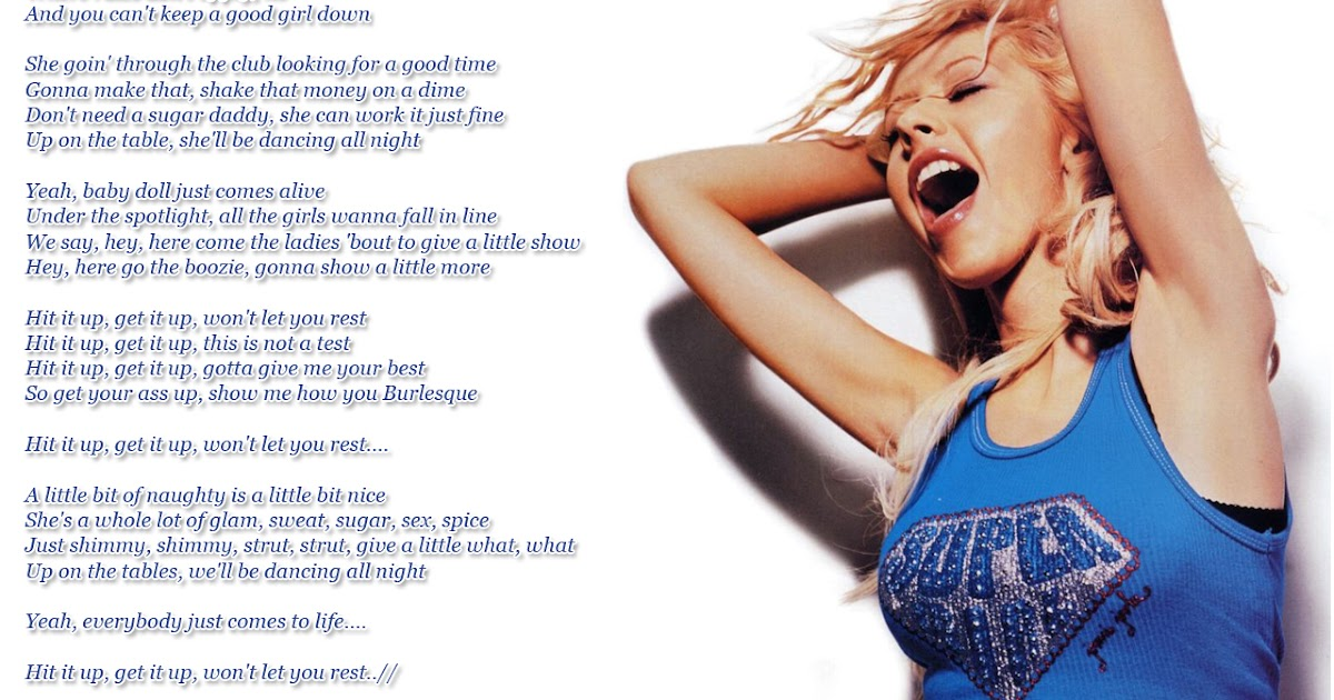 Lyrics Wallpapers: Christina Aguilera - Show Me How You ...