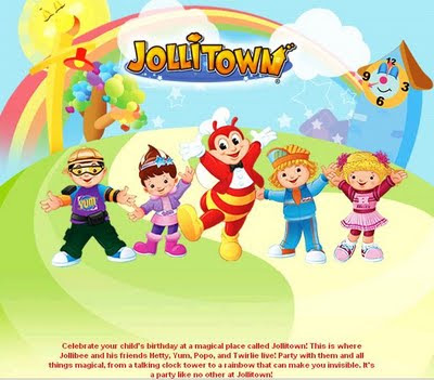 Jollibee Party Package - Jollitown