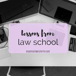 Advice from women lawyers for future women attorneys. How many cases you'll read in law school. How to make friends with students from other sections | brazenandbrunette.com