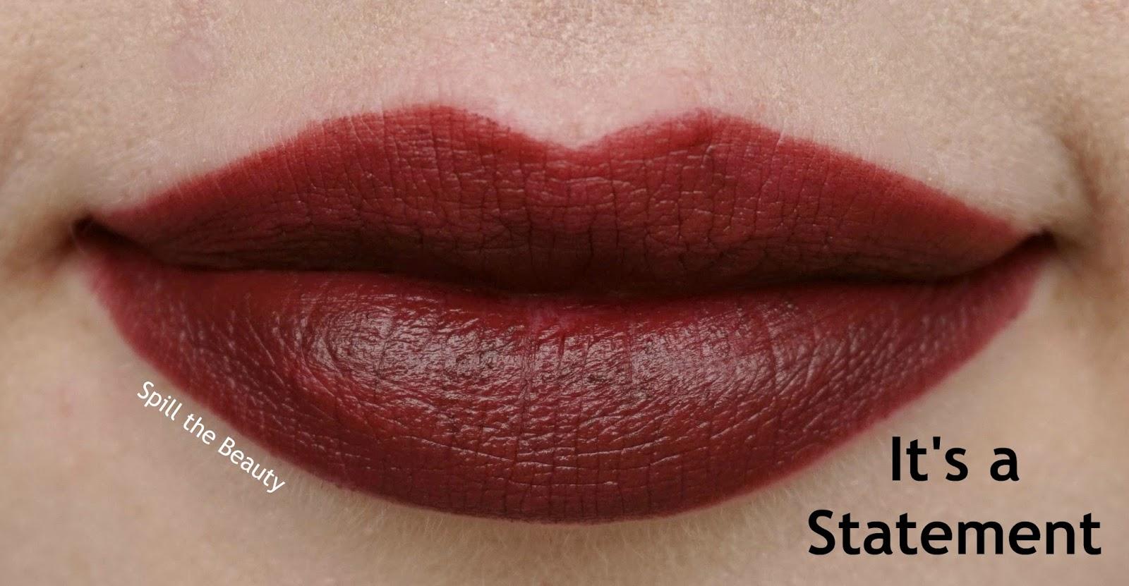 essence matt matt matt lipstick review swatches 8 it's a statement