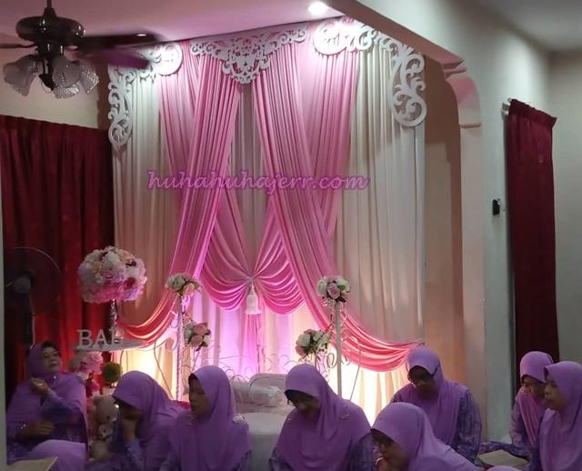 Majlis Aqiqah Dan Berendoi Baby Rania Bagaikan Majlis Kenduri Kahwin, Meriah!