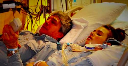 Une adolescente de 14 ans se retrouve dans le coma. Son père veut que tous les parents connaissent cette histoire