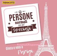 Logo Con Parmacotto partecipa gratis e vinci 1 viaggio a Parigi per 2 persone