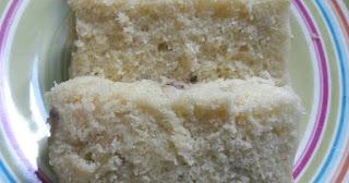 Resep untuk keluarga kue pisang kepok