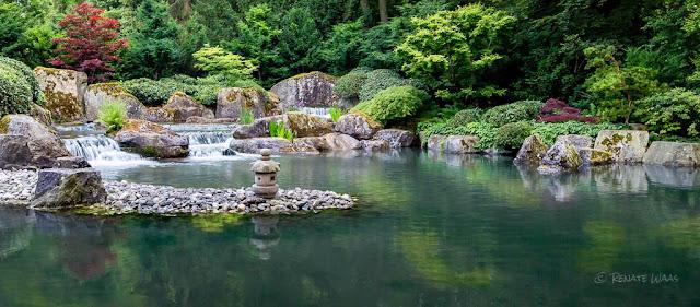 Der Japanische Garten in Augsburg - immer einen Besuch wert