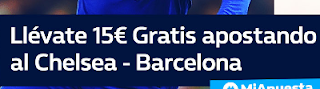 william hill promocion Chelsea vs Barcelona 20 febrero