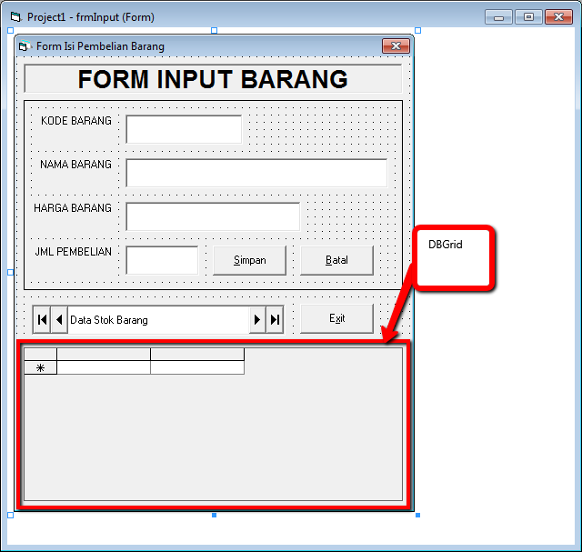 data bound grid vb6 runtime