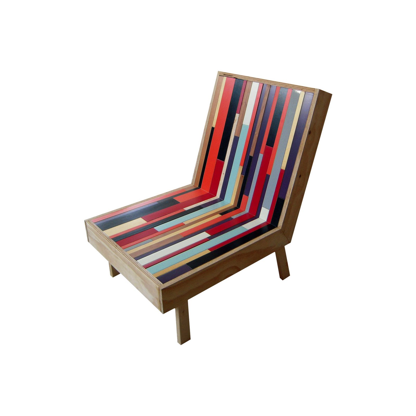 WEAFER DESIGN: Furniture From Recycled Materials