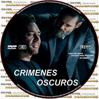 GALLETADARK CRIMES - CRIEMES OSCUROS - 2018 [COVER DVD]
