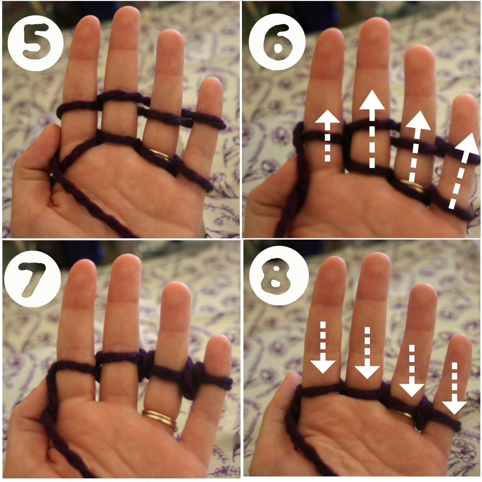How ti finger