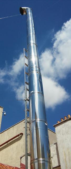 foto aumentar altura tubos chimenea en madrid