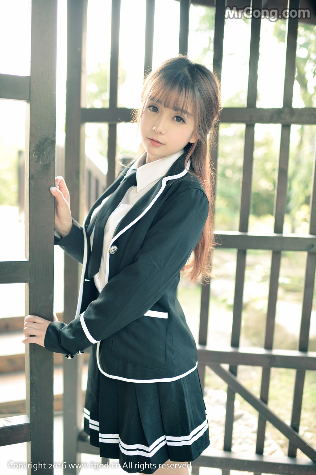 Image MrCong.com-TGOD-2016-02-03-Xiao-Jiu-Vin-001 in post TGOD 2016-02-03: Người mẫu Xiao Jiu Vin (小九Vin) (62 ảnh)