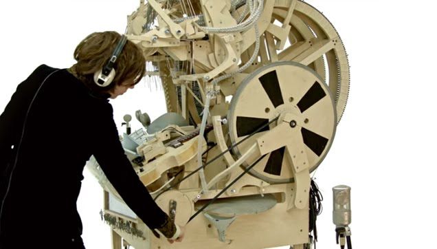 Marble Machine Music Instrument