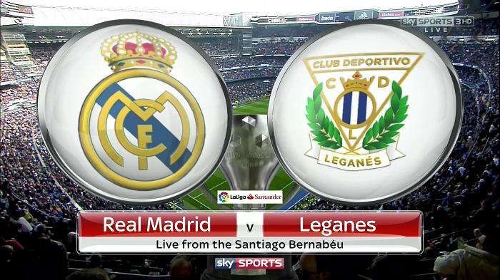 Horario y dónde ver: Real Madrid vs. Leganés