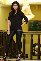 Shruti Haasan Looks Stunning trendy cool in Black relaxed Shirt and Tight Leather Pants ~ .com Exclusive Pics 081.jpg
