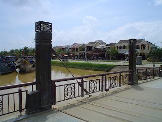 Bridge on the Thu Bon River, Hoi An