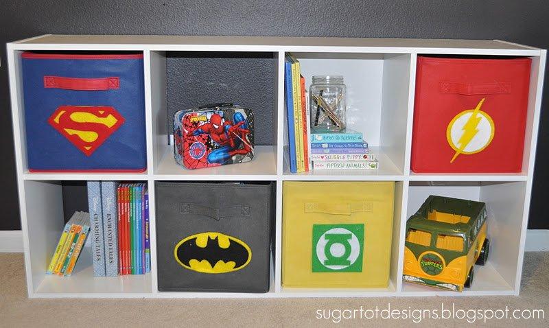 Sugartotdesigns Boys Superhero Room Reveal