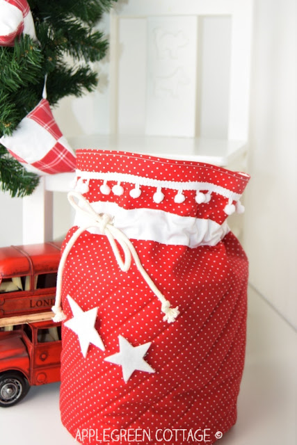 Santa bag sewing pattern