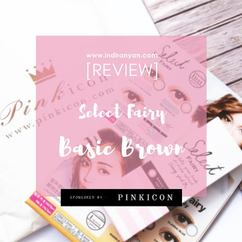Contact Lenses : Select Fairy - Basic Brown 1 Day*