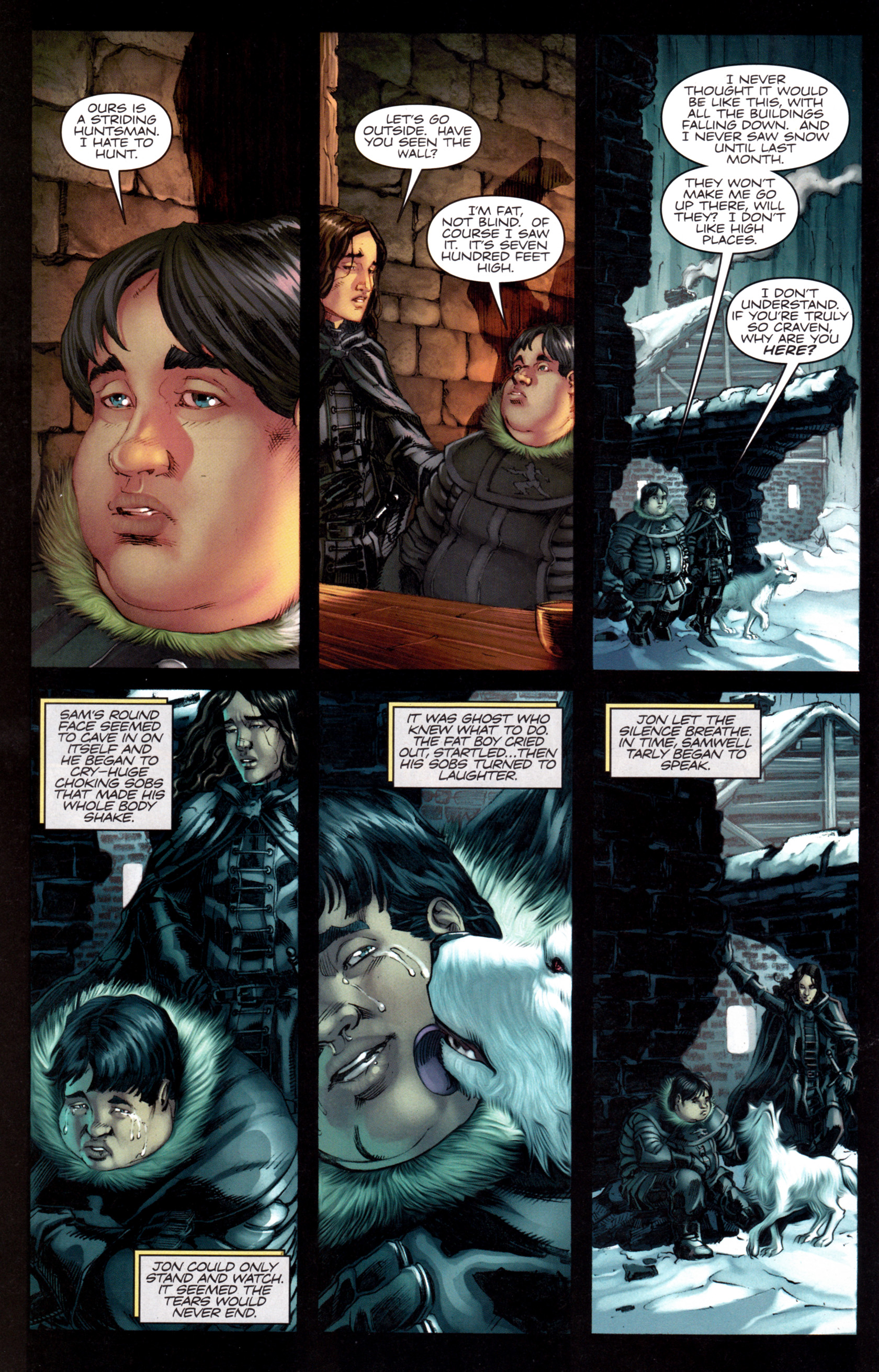 Read online A Game Of Thrones comic -  Issue #8 - 18