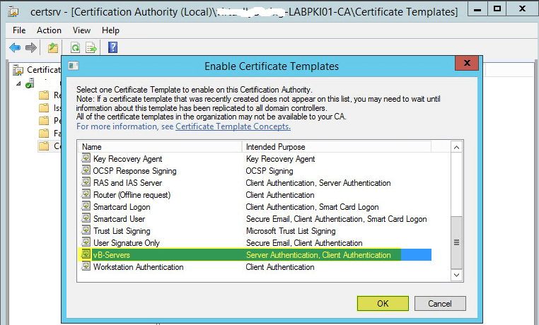How to deploy active directory certificate services on windows configuring group policy for automatic certificate enrollment yelopaper Image collections