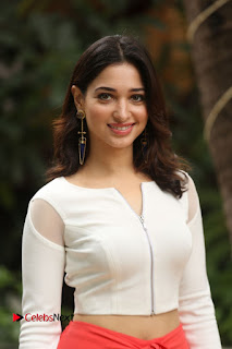 Actress Tamannaah Pictures at Abhinetri Movie Interview 0007.JPG
