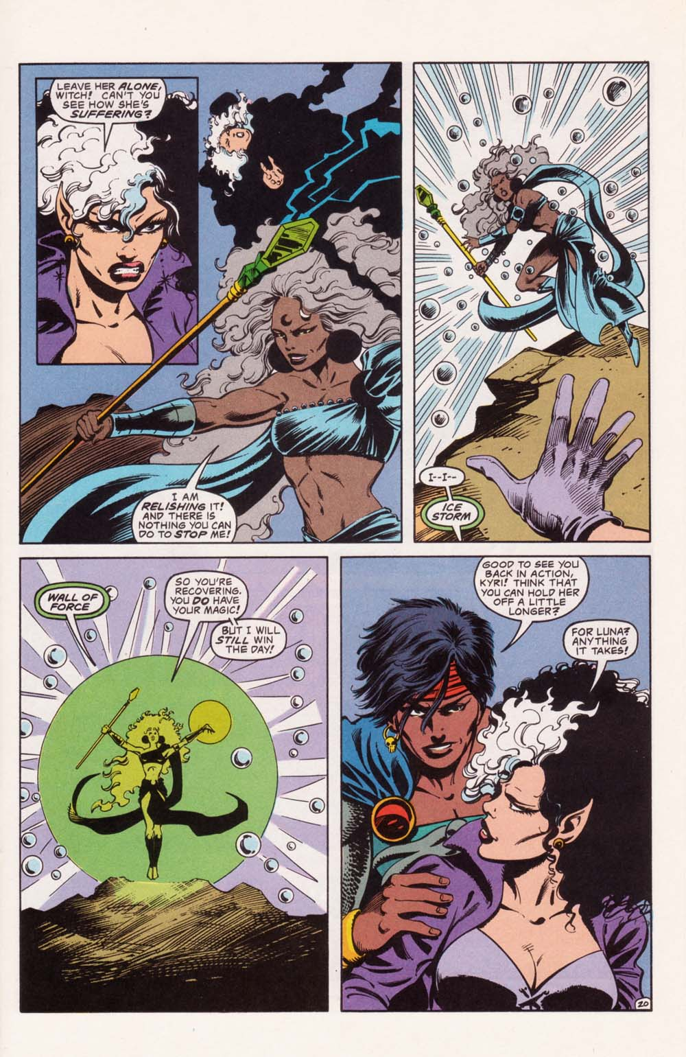Read online Advanced Dungeons & Dragons comic -  Issue #22 - 20