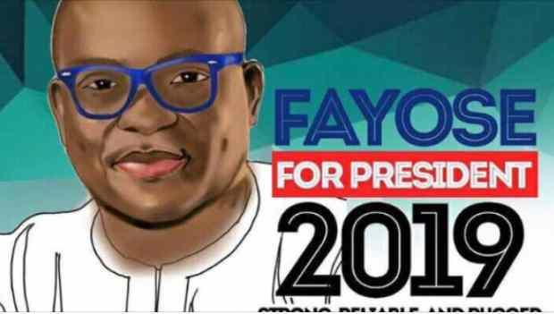 2019 ELECTIONS:  Fayose formally announces Nigeria presidency bid