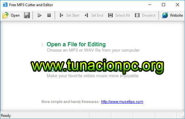 Free MP3 Cutter and Editor Imagen