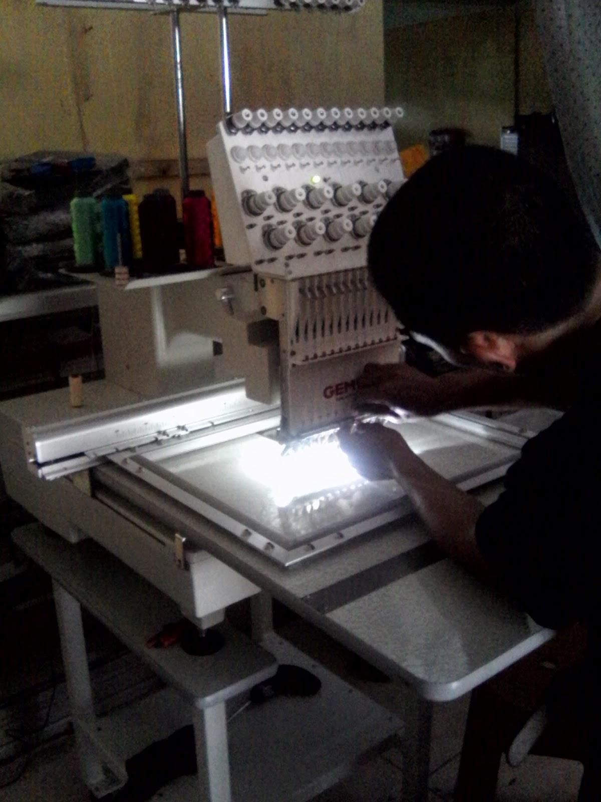 mesin bordir komputer di luwu sulawsi selatan