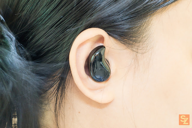 S530 Bluetooth Earbud earhook design