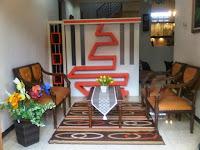 Furniture Interior Semarang - Sekat Partisi Ruang Tamu