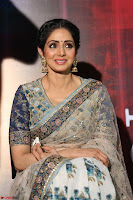 Sri Devi in designer saree stunning beauty at the launch of MOM movie Trailer~  Exclusive 014.JPG