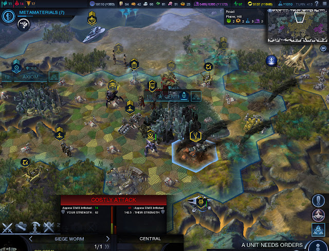 Civilization: Beyond Earth  | Town Siege Screenshot