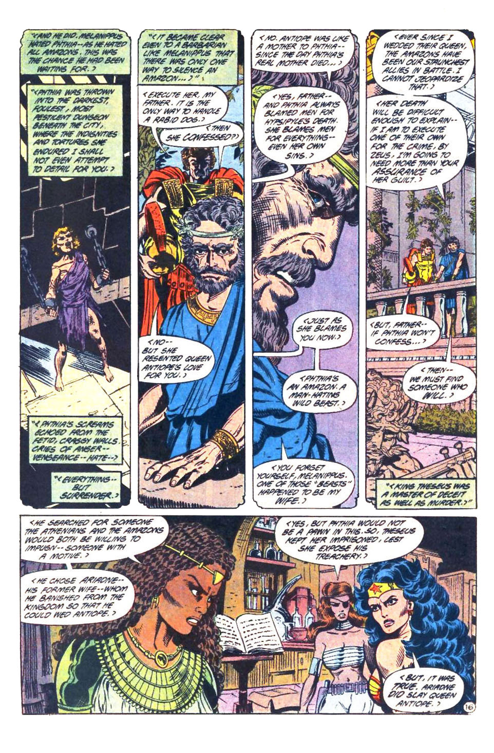 Read online Wonder Woman (1987) comic -  Issue #33 - 17
